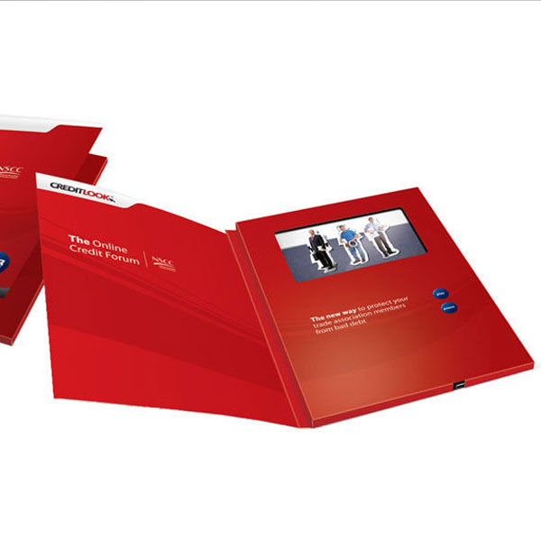 Invitation video card