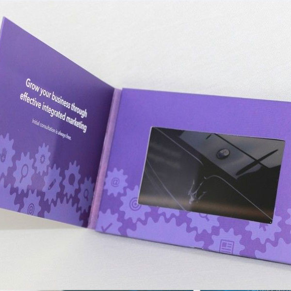Video greeting cards new way to announce news or congratulate people flip card video m4hsunfo